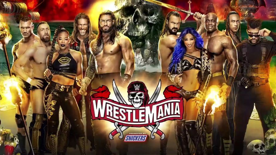 Wrestlemania 37 presentó al nuevo WWE 2K22