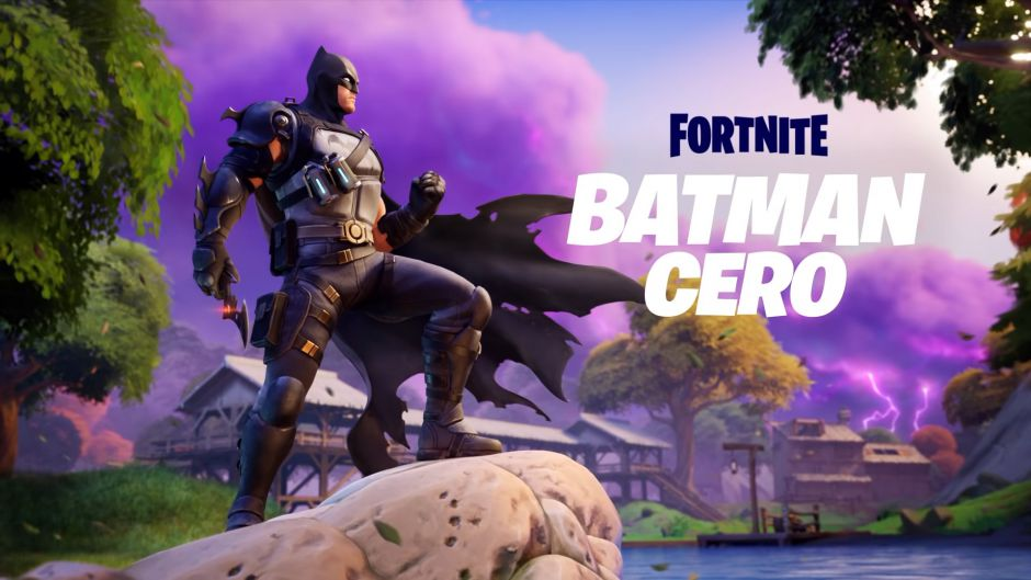 Batman Zero ya está disponible en Fortnite