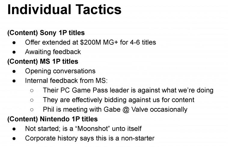 Epic Games documento