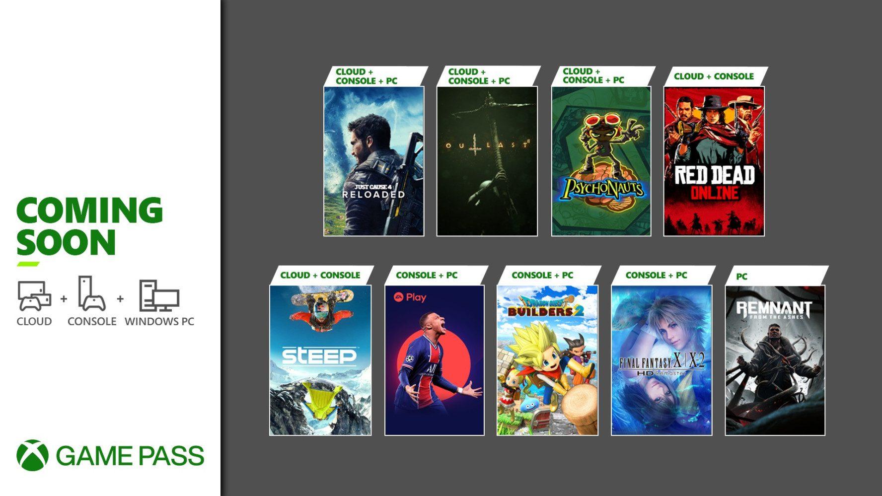 Desvelados los nuevos juegos que entran a Xbox Game Pass en mayo