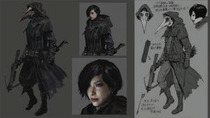 ada wong Resident Evil Village 01