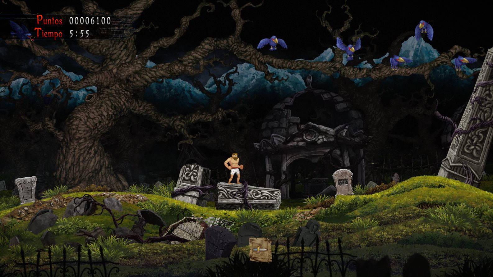 ghost n goblins resurrection - generacion xbox