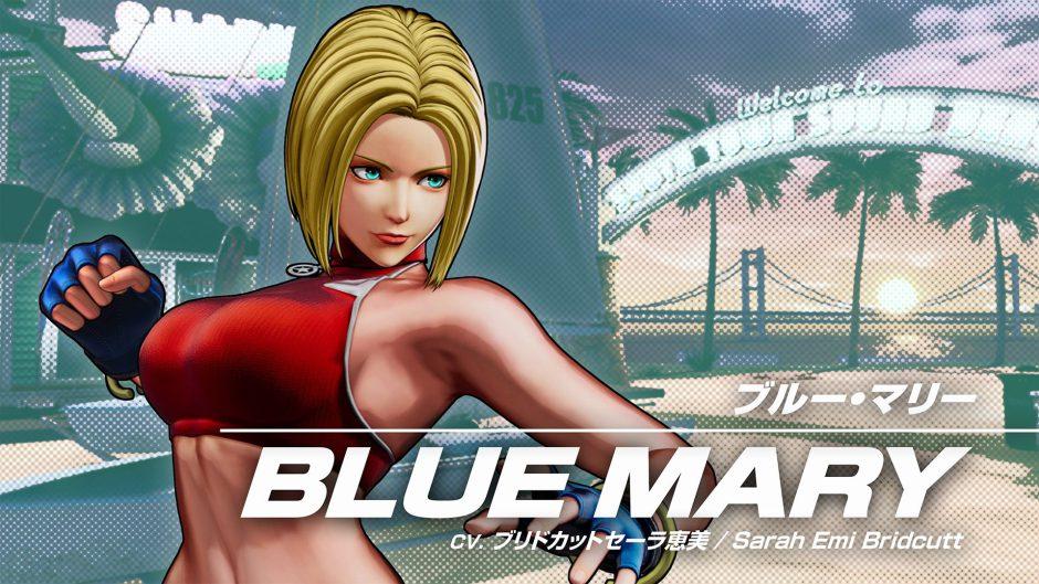 Blue Mary es la nueva luchadora de King of Fighters 15