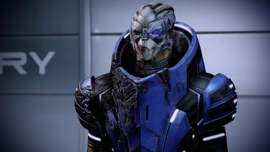 Garrus y Ashley sufrieron un cambio de última hora en el Mass Effect original