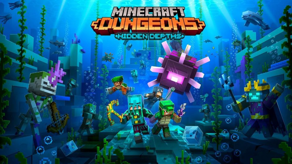 Minecraft Dungeons: Filtradas capturas de su nuevo DLC