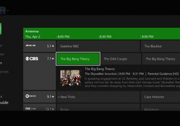 Xbox OneGuide dice adios al listado de TV de sus funciones