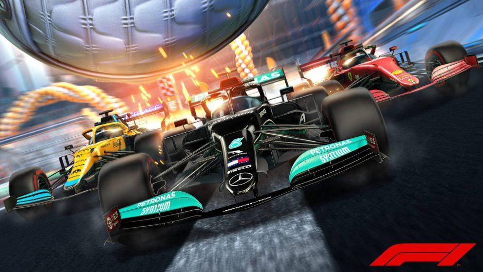 La Formula 1 se suma a Rocket League en este pack