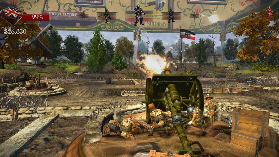 Toy Soldiers HD se retrasa hasta septiembre
