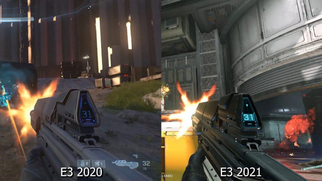 Así ha evolucionado Halo Infinite desde 2020 hasta ahora - Un usuario de YouTube hve una comparativa gráfica de Halo Infinite, tomando como referencia las imágenes mostradas en la E3 2020 y la E3 2021