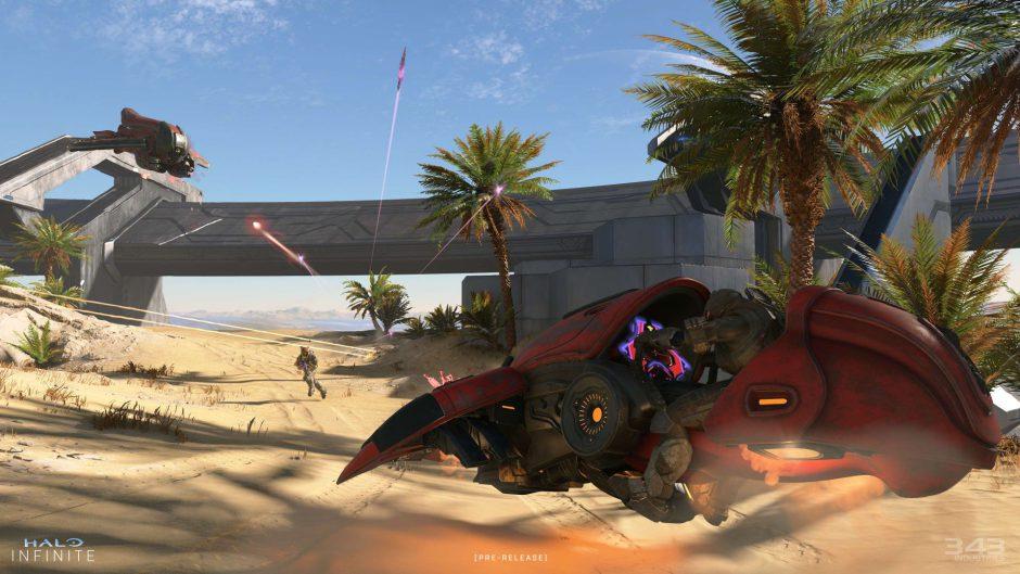 """La próxima prueba técnica de Halo Infinite será full PvP con modos como """"Big Team Battle"""""""