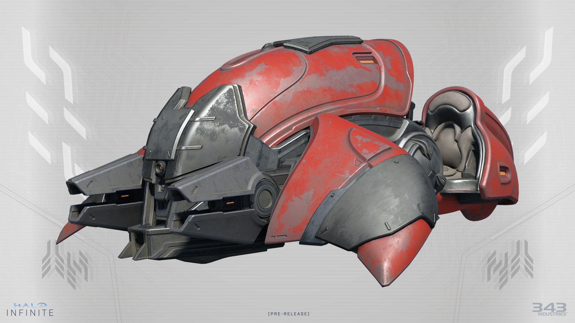 Un vistazo al brutal aspecto de algunos vehículos de Halo Infinite
