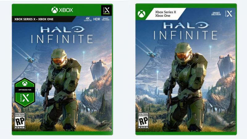Halo Infinite Portadas