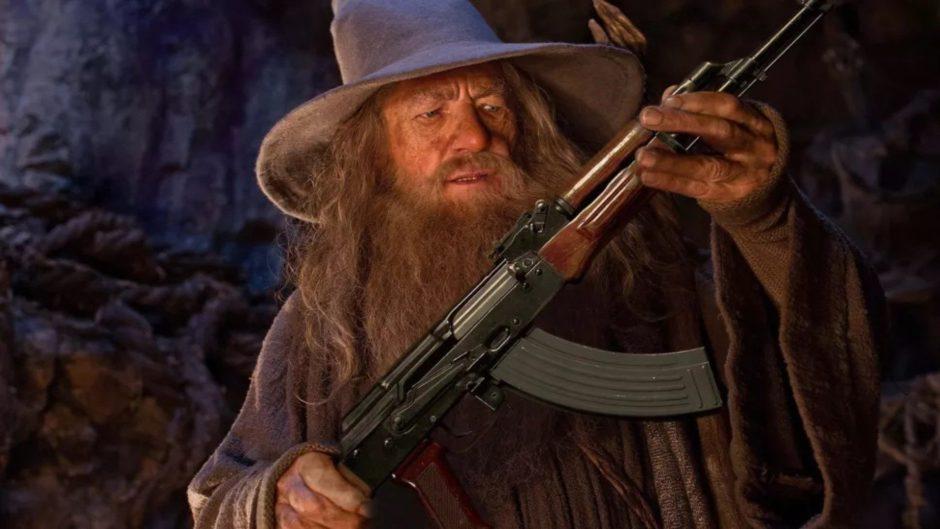 Un meme de Gandalf sirvió de inspiración para desarrollar Wizard with a Gun