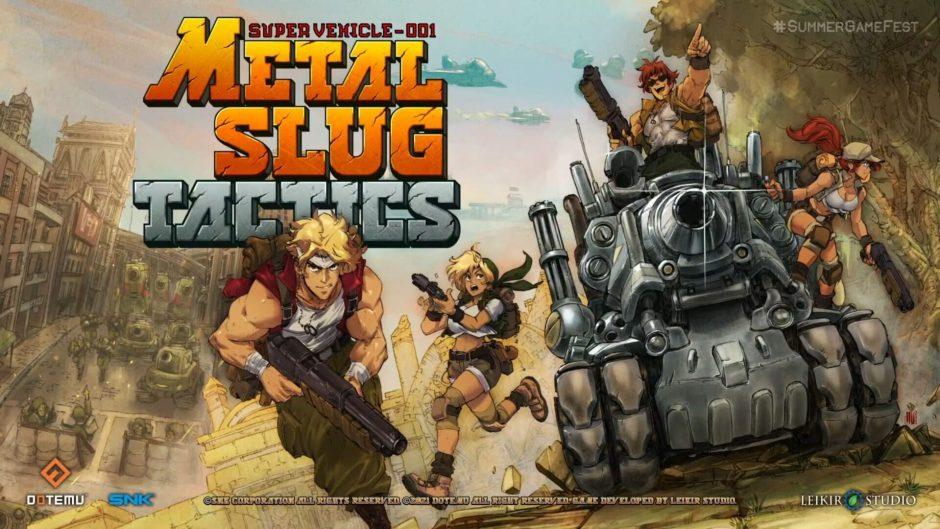 Disfruta de un nuevo gameplay de Metal Slug Tactics