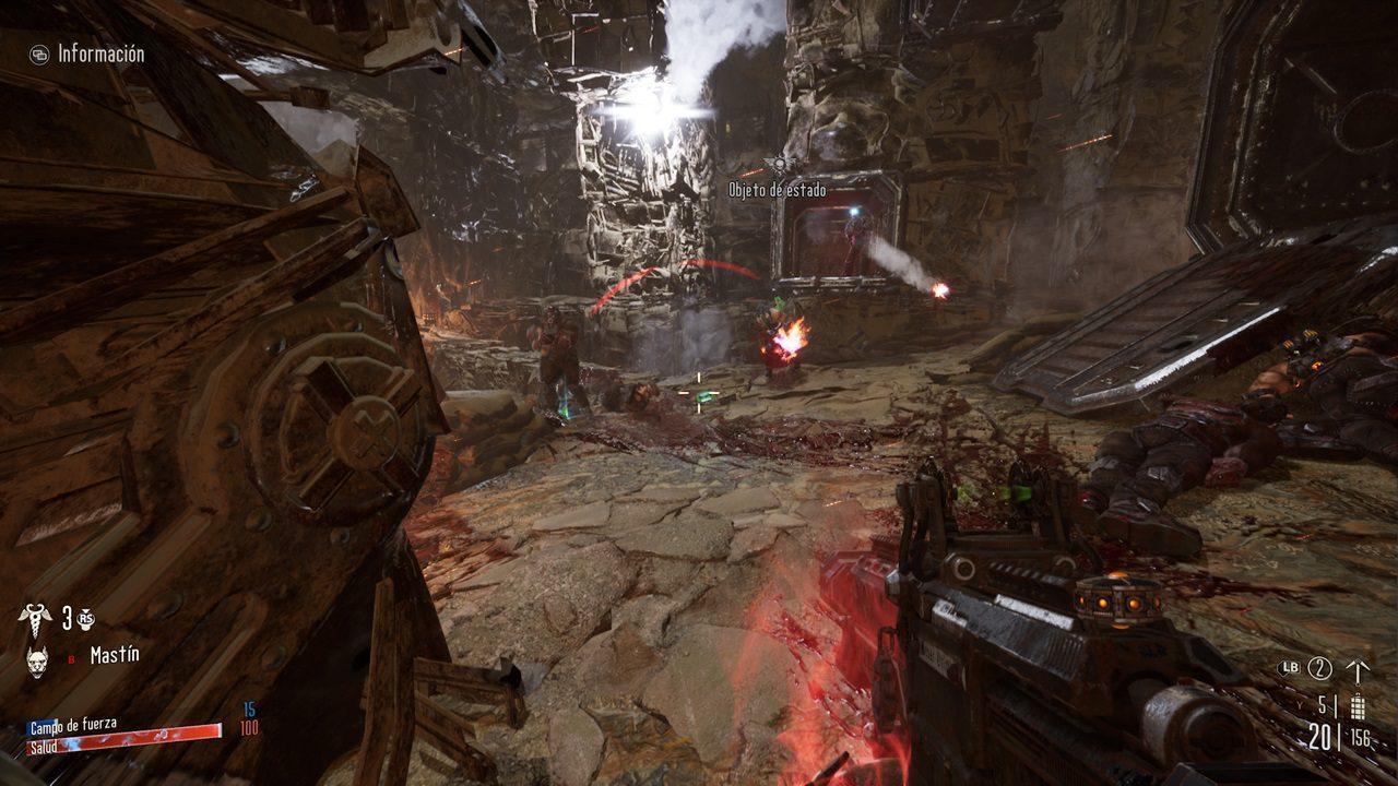 Análisis de Necromunda: Hired Gun - Necromunda: Hired Gun usa el universo Warhammer 40.000 para ofrecernos un trepidante FPS de acción con interesantes toques de personalización.