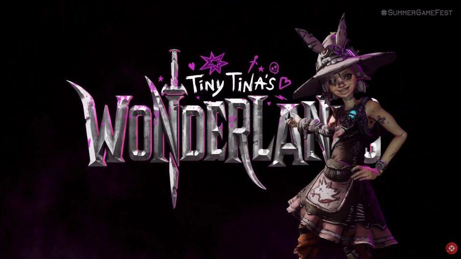 Primer tráiler de Tiny Tina's Wonderlands