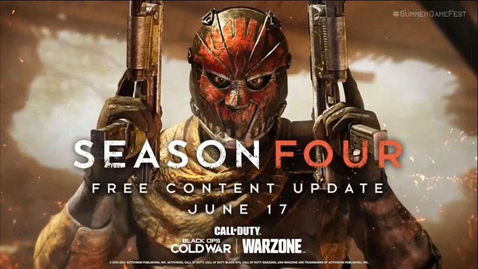 La temporada 4 de Call Of Duty: Warzone llegará el 17 de junio