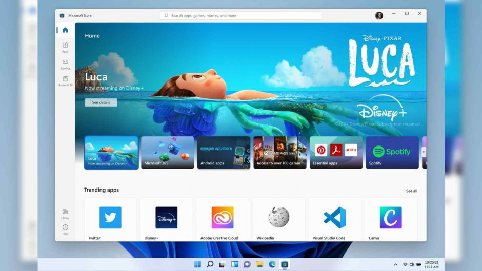 Windows 11 permitirá ejecutar aplicaciones de Android