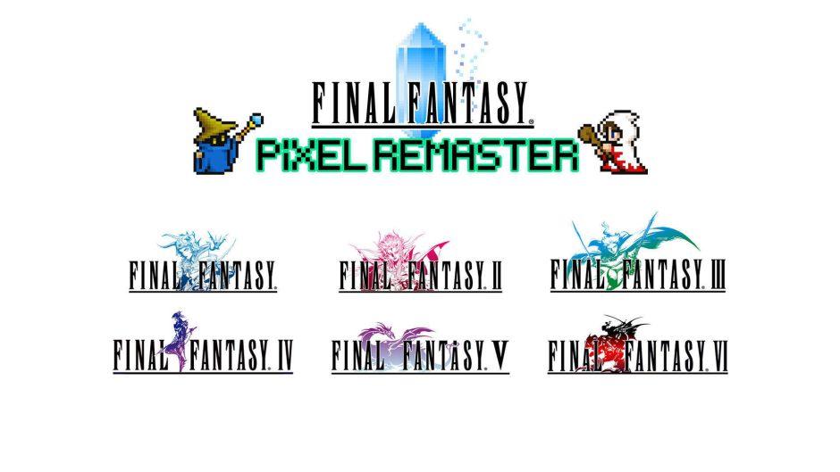 Los juegos de Final Fantasy Pixel Remaster llegarán en julio