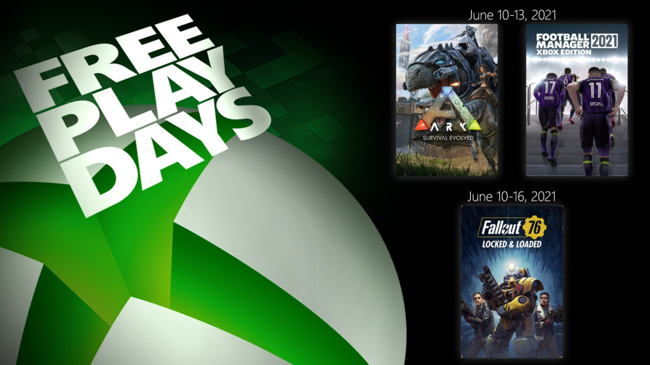 Disfruta de 3 potentes títulos en los Free Play Days de esta semana