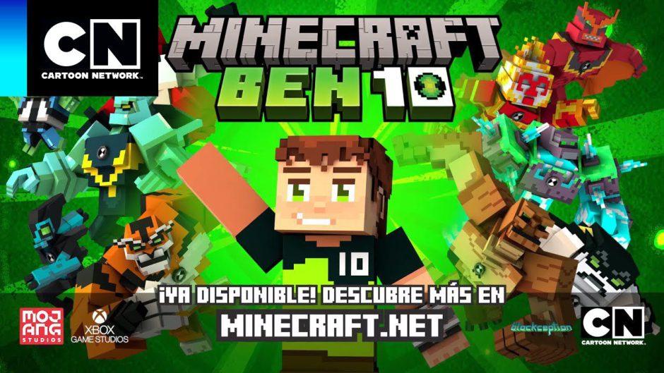 Ben 10 llega a Minecraft con este grandioso DLC