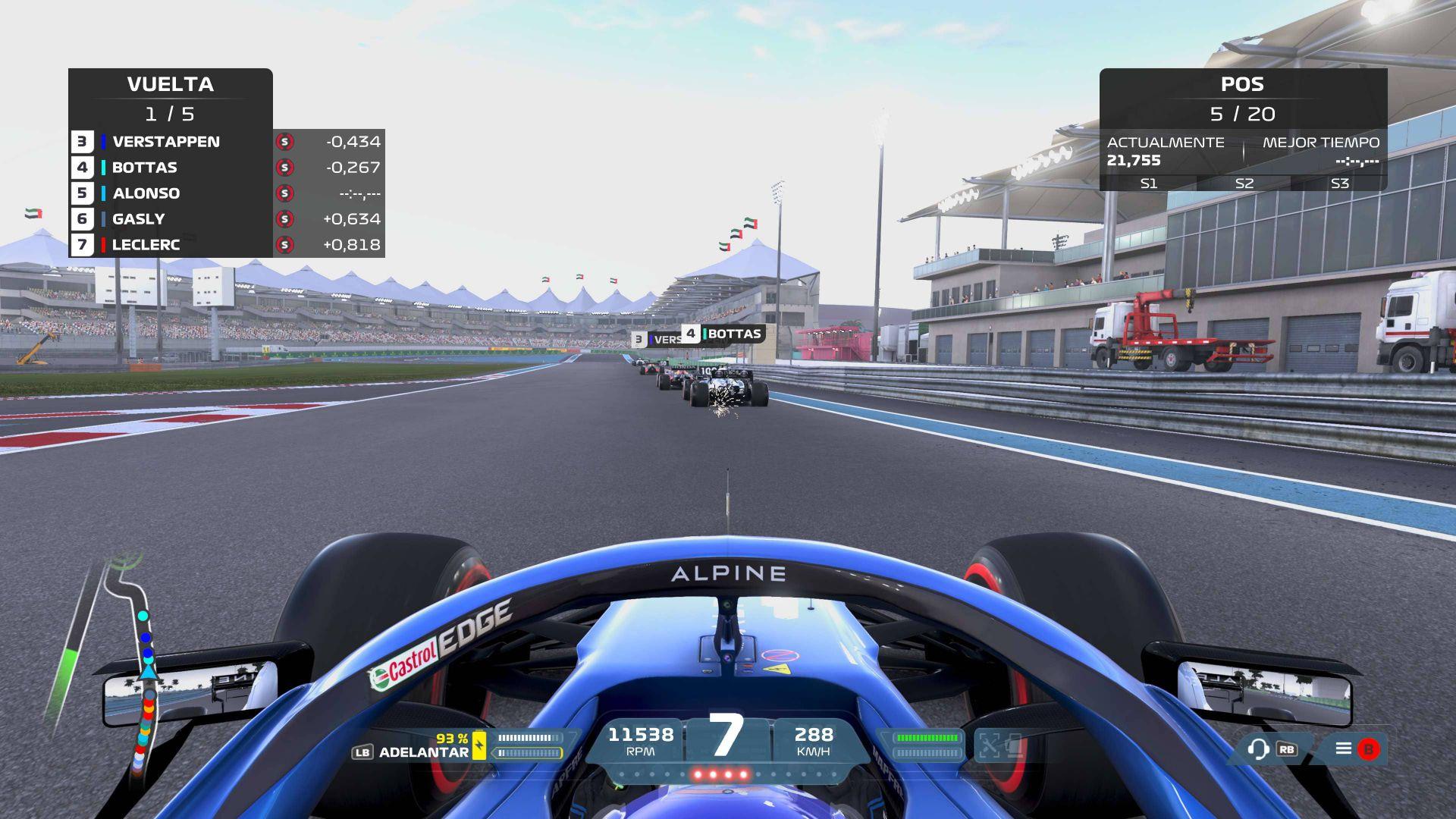 Análisis F1 2021