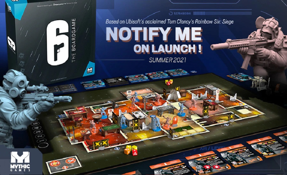 Juego de mesa para Rainbow Six Siege, 6: Siege The Board Game
