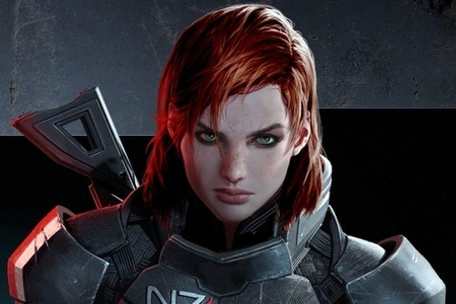 Una imagen de Mass Effect 1 muestra una primera versión de Femshep