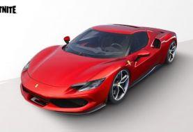 Ya disponible el nuevo Ferrari 296 GTB en Fortnite
