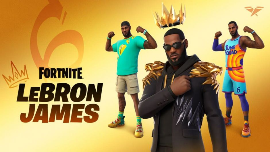 Rumors given were real: Lebron James is coming to Fortnite