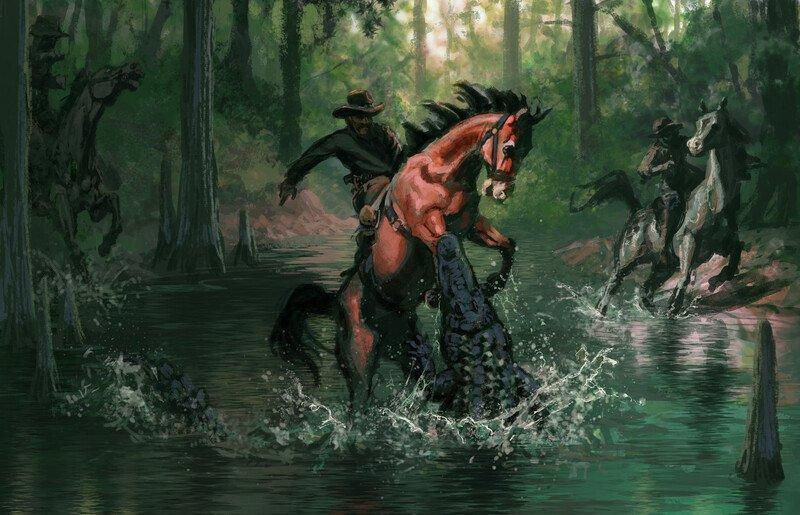 Las primeras imágenes de Red Dead Redemption 2