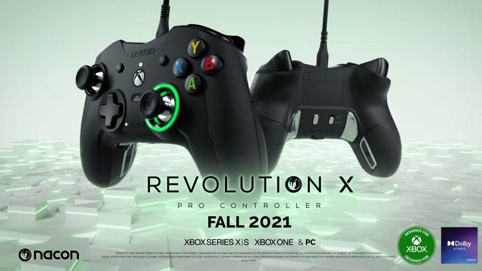 Presentado el nuevo Nacon Revolution X Pro Controller para Xbox One y Xbox Series