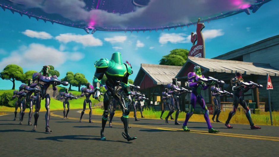Fortnite nos trae los Nanite Alienígenas, su nueva arma especial