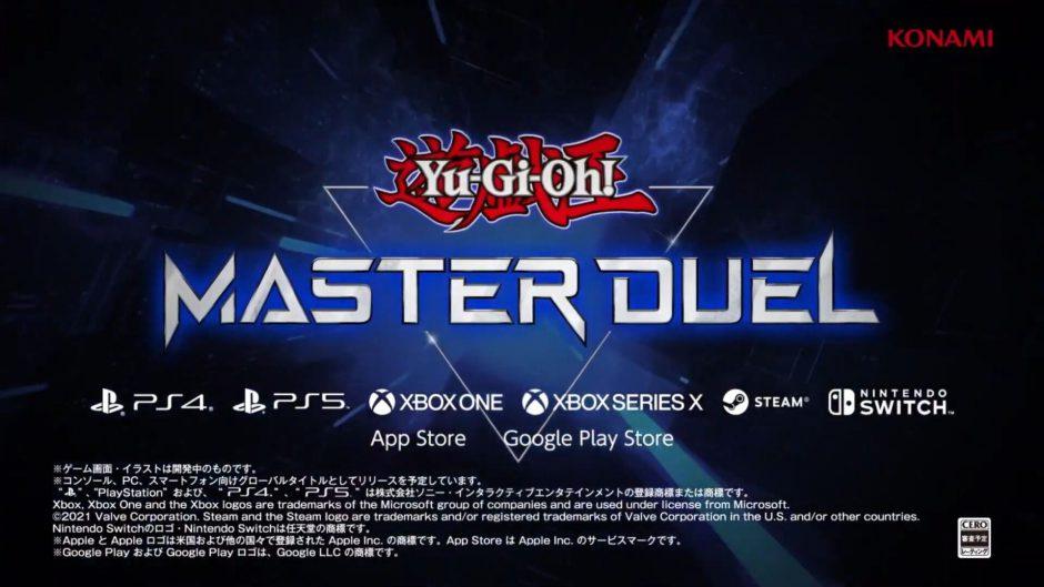Anunciado Yu-Gi-Oh! Master Duel, que llegará a consolas Xbox y PC