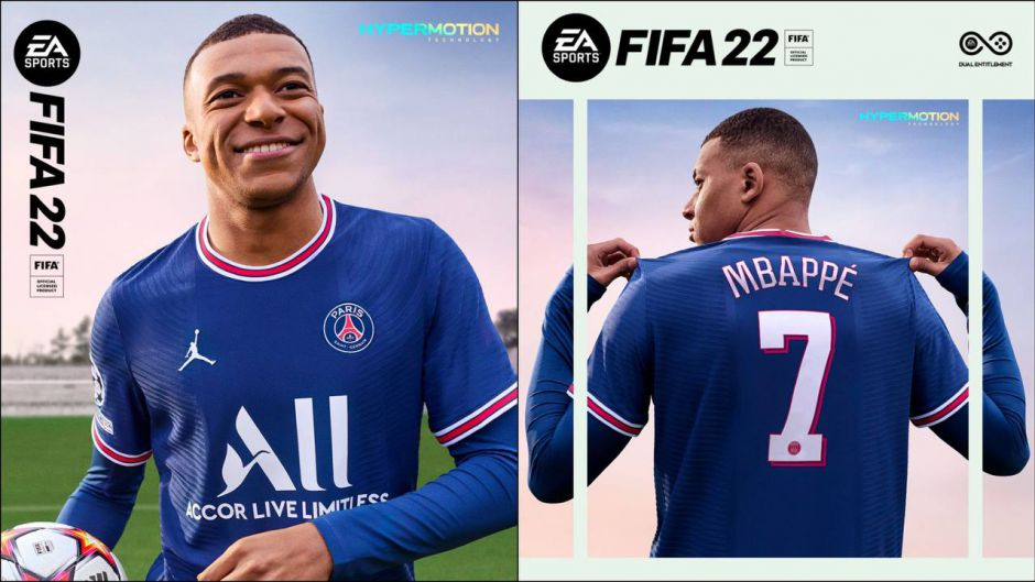 It's FIFA 22 with Hypermotion, new generation football on October 1