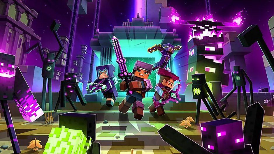 Minecraft Dungeons: Ultimate Edition es oficial, al igual que Echoing Void su nuevo DLC
