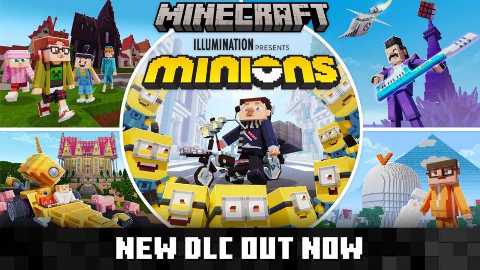 Los Minions llegan a Minecraft con este nuevo DLC