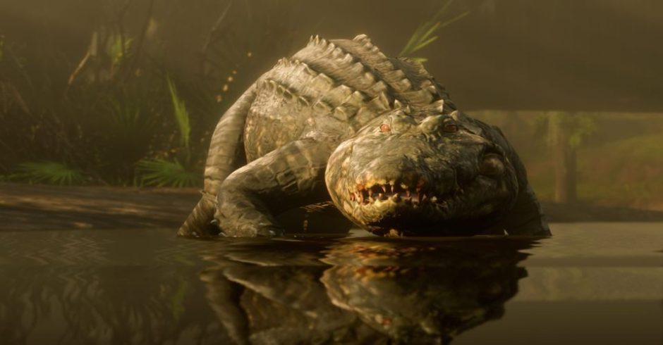 Imagen de Red Dead Redemption 2 sugiere que los caimanes pudieron ser más letales