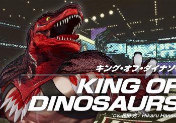 The King of Dinosaurs regresa en King of Fighters 15