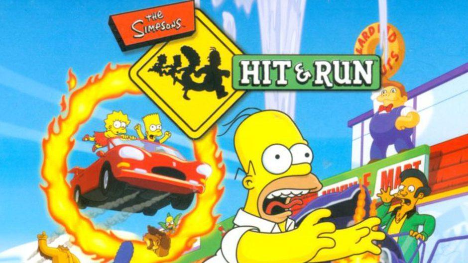 Brutal, crean con Unreal Engine 5 el mapa de The Simpsons Hit & Run
