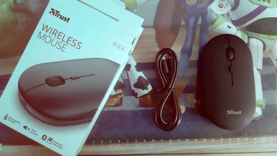 Estas son nuestras impresiones del Mouse Puck Pro Wireless de Trust