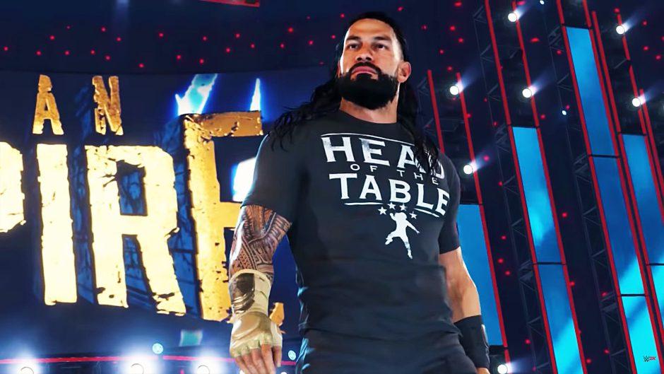 WWE 2K22 calienta motores con un nuevo tráiler y su fecha de lanzamiento
