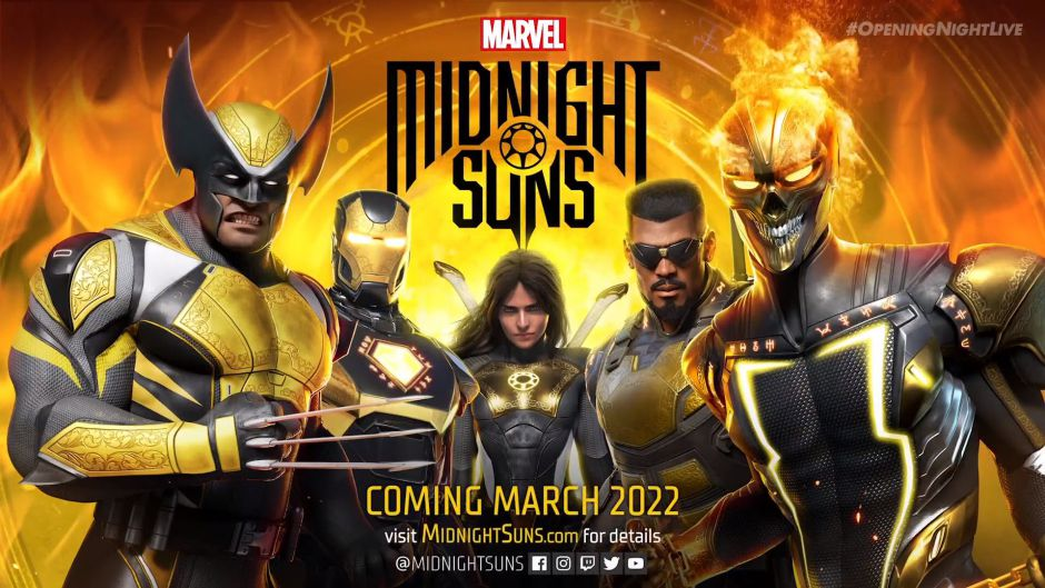 Marvel Midnight Suns es oficial y llega el año que viene