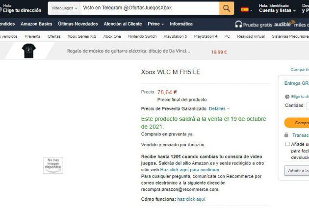 Xbox podría estar preparando mandos ediciones 20 aniversario y de Forza Horizon 5 - Según hemos podido ver en Amazon, Xbox podrías estar preparando dos nuevos mandos especiales para una ocasión única.
