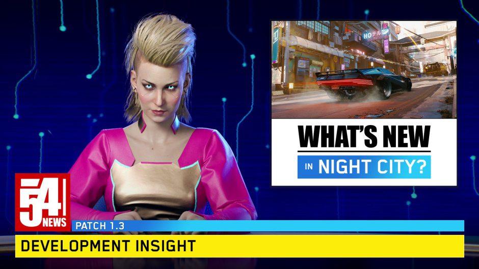 Cyberpunk 2077 anuncia nuevo parche de una manera especial