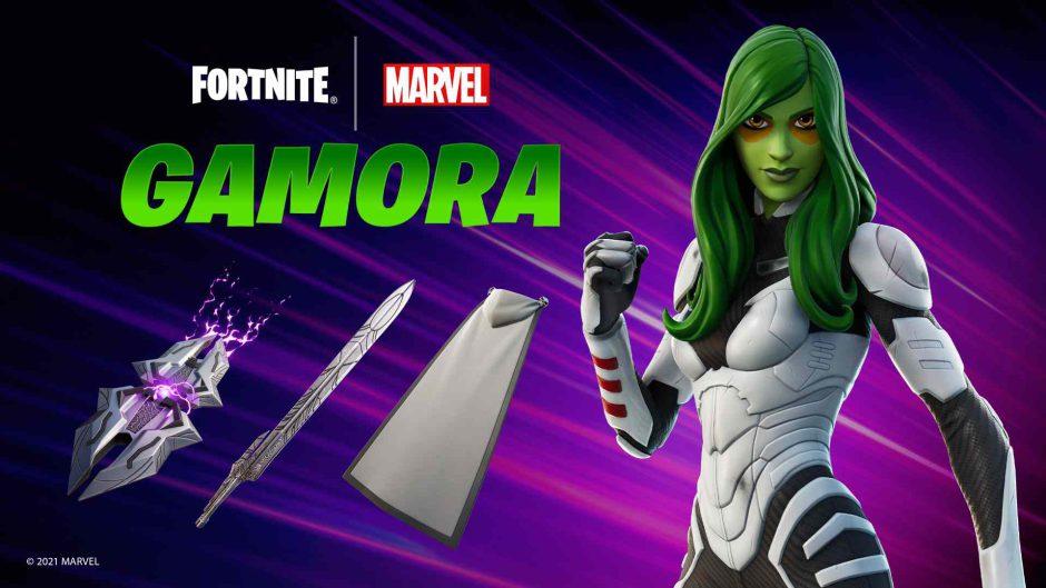Gamora llega a Fortnite y podrás hacerte con ella participando en la Copa Gamora