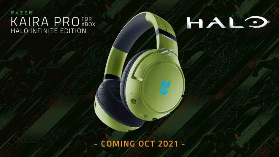 Domina la lucha con estos Razer Kaira Pro inspirados en Halo Infinite
