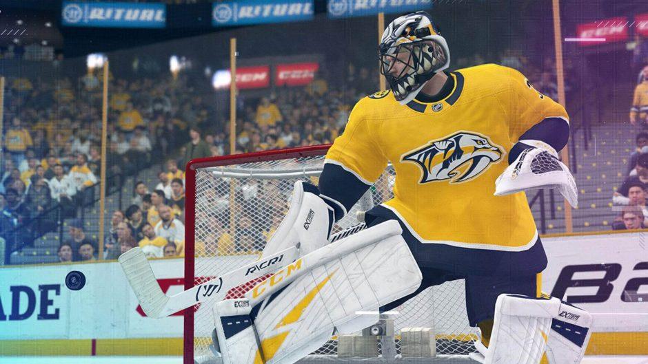 NHL 22 tendrá beta cerrada antes del lanzamiento