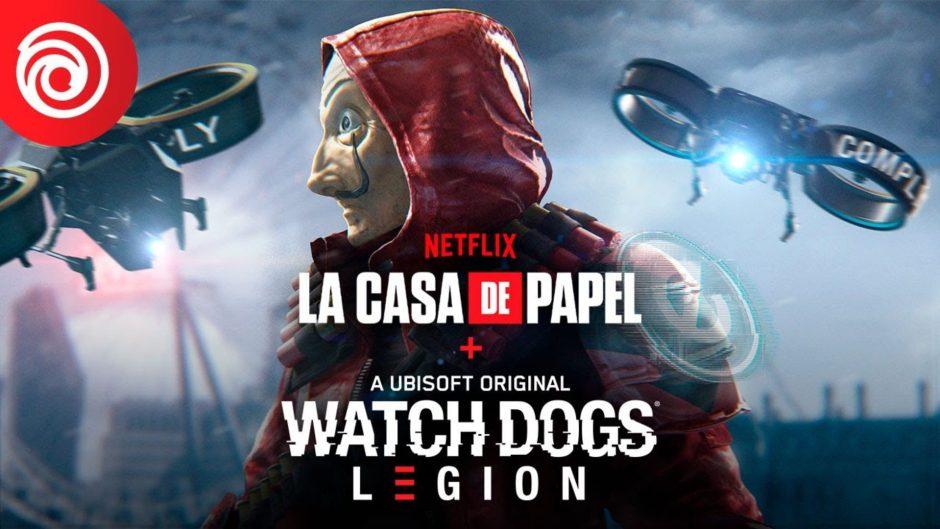 Watch Dogs: Legion tiene en cámino una misión cooperativa inspirada en la casa de papel