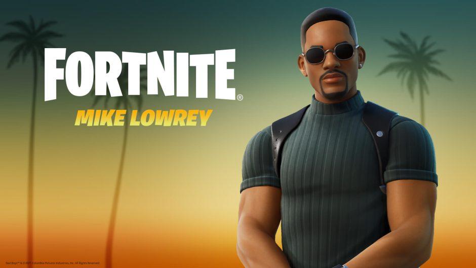Will Smith se une a Fortnite como el agente Mike Lowrey